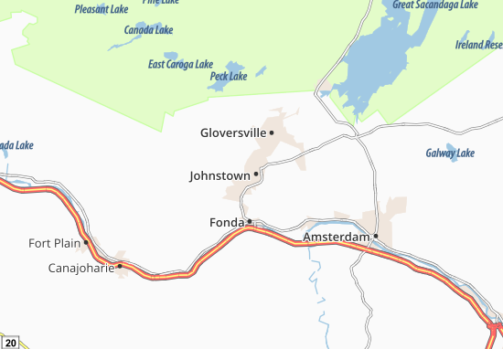 Johnstown Map