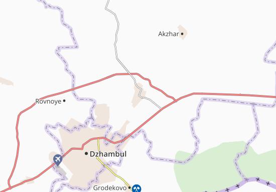 Sarykemer Map