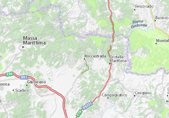 Mappe-Piantine Roccastrada