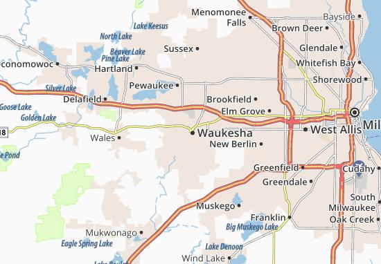 Waukesha Map