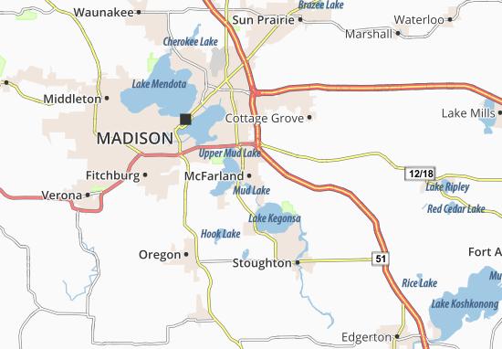 McFarland Map