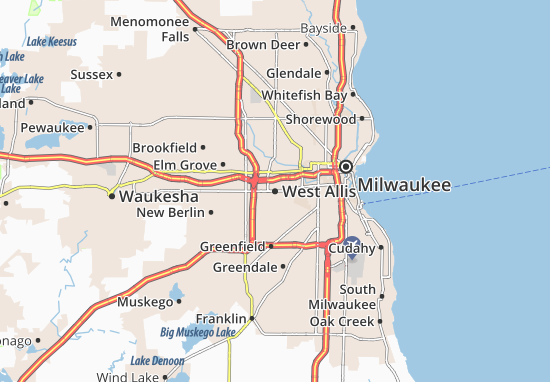 West Allis Map