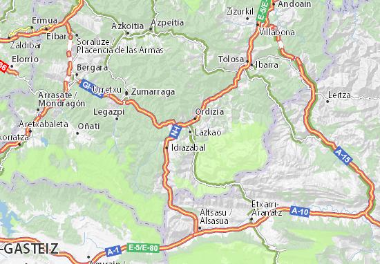 Mapas-Planos Lazkao