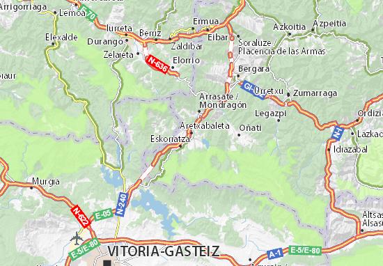 Aretxabaleta Map