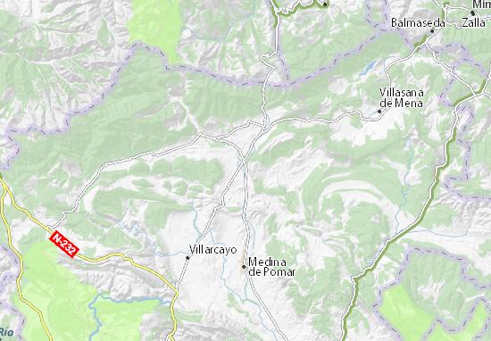 Mapas-Planos El Ribero