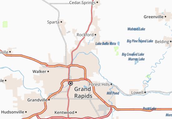 Carte-Plan Northview