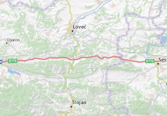Kaart Plattegrond Balgarene