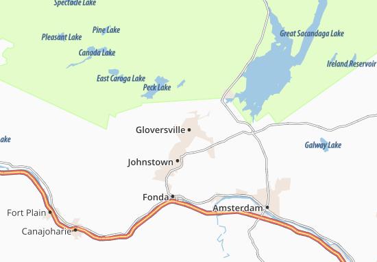 Gloversville Map