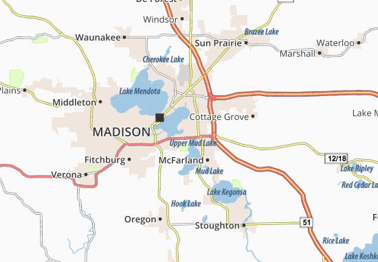 Monona Map
