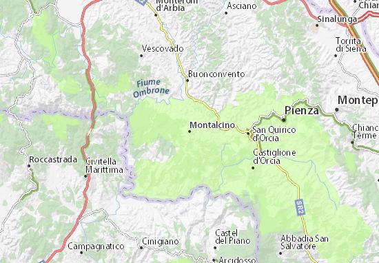 Mappe-Piantine Montalcino