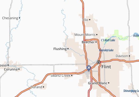 Mapas-Planos Flushing