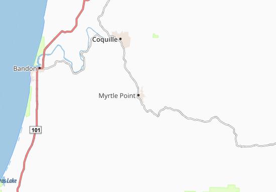 Myrtle Point Map
