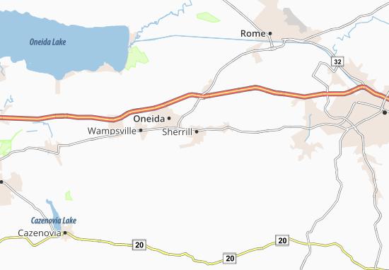 Sherrill Map