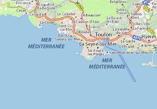 Carte Détaillée Ile Du Grand Gaou Plan Ile Du Grand Gaou