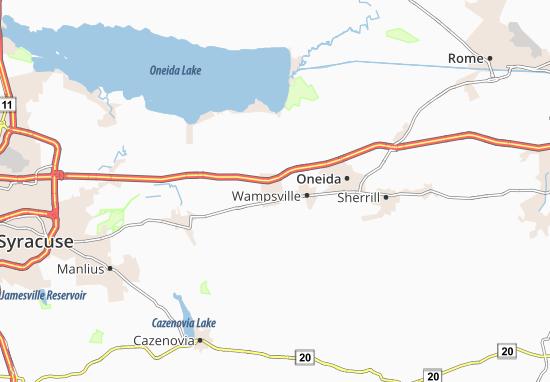 Canastota Map
