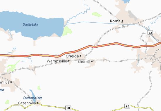 Oneida Map