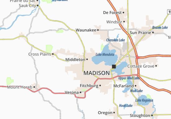 Middleton Map