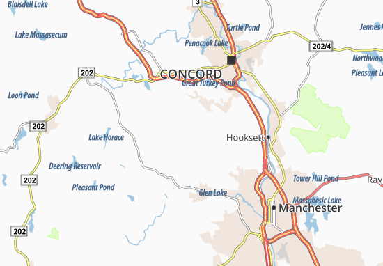 Dunbarton Map