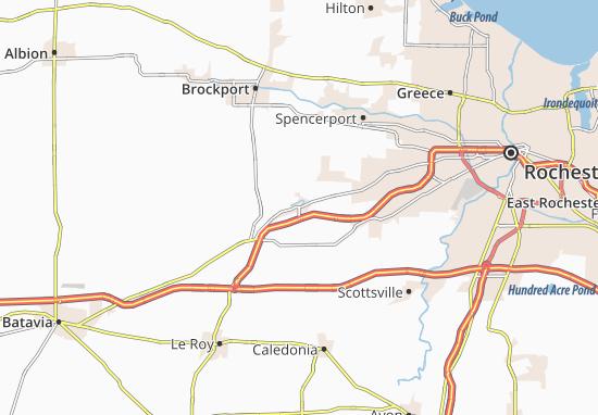 Churchville Map