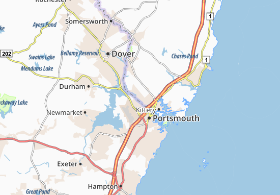 South Eliot Map