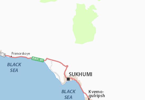 Mapas-Planos Akhalsheni