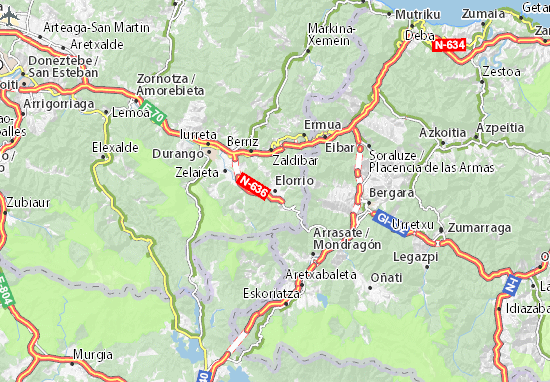 Elorrio Map