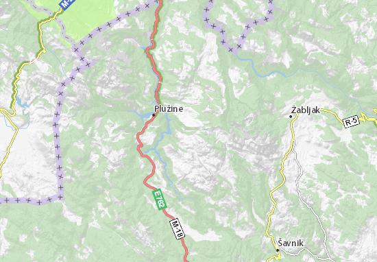 Karte Stadtplan Boričje