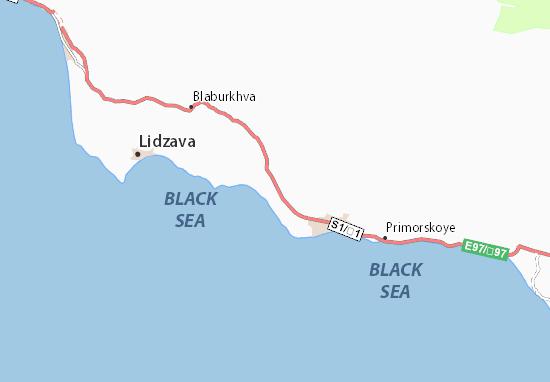 Akhalsopeli Map