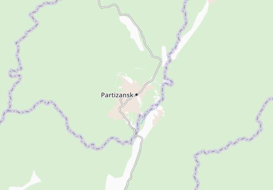 Carte-Plan Partizansk