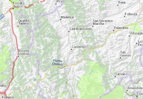 Camerino Map