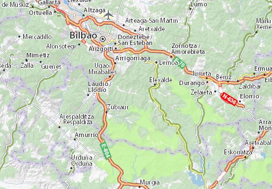 Zeberio Map