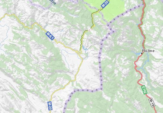 Kaart Plattegrond Avtovac
