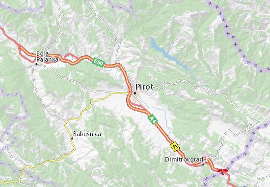 Pirot Map