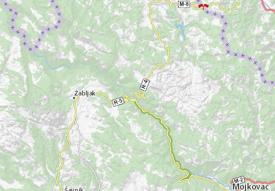 Đurđevića Tara Map