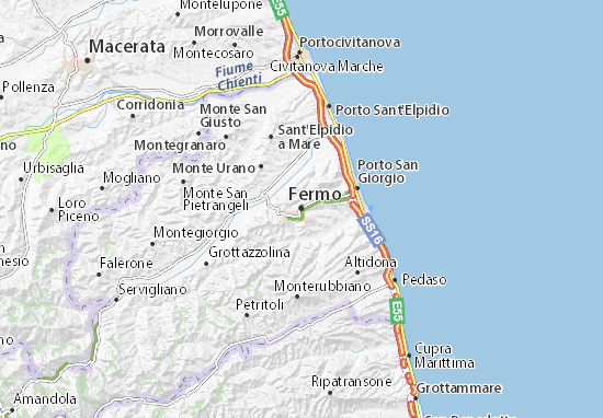 Fermo Map