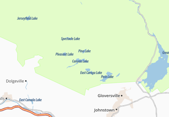 Map of Canada Lake - Michelin Canada Lake map - ViaMichelin Canada Lake Maps on