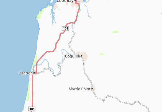 Coquille Map