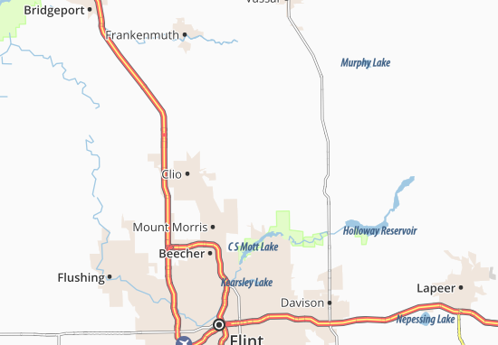 Thetford Center Map
