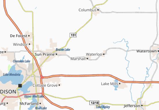 Deansville Map