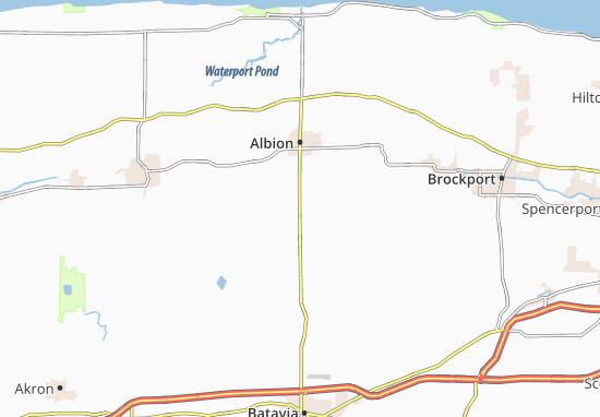 Barre Center Map