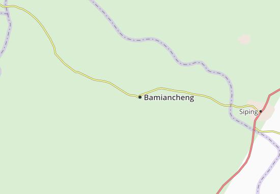 Bamiancheng Map
