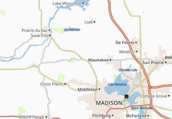 Springfield Corners Map