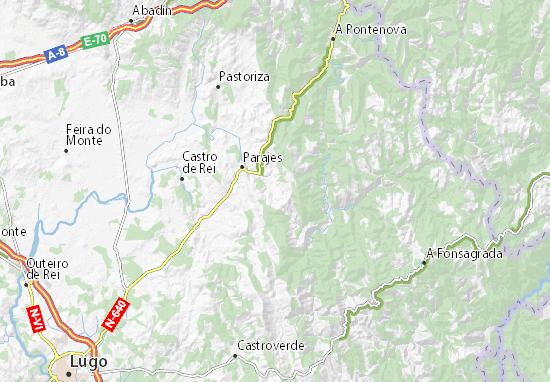Vilar de Moros Map
