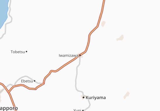 Iwamizawa Map