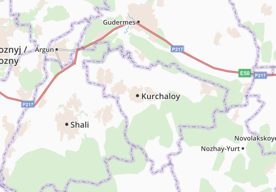 Mapa Plano Kurchaloy