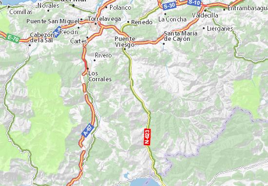 Mapas-Planos San Vicente de Toranzo