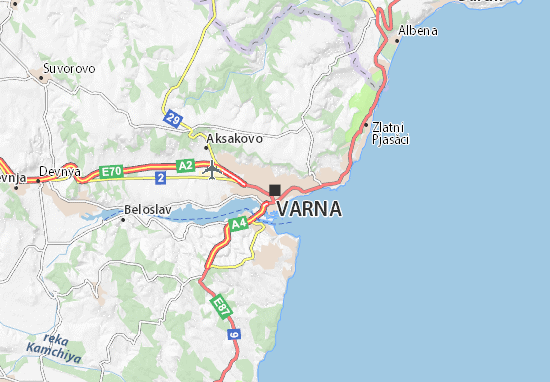 Varna Map