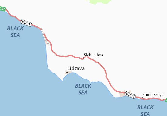 Mapa Plano Blaburkhva