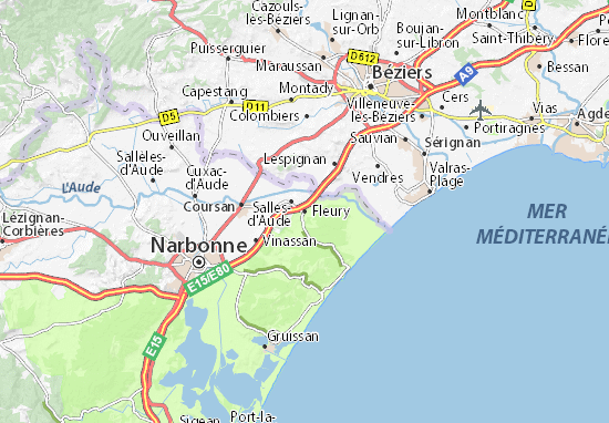 Mapas-Planos Fleury
