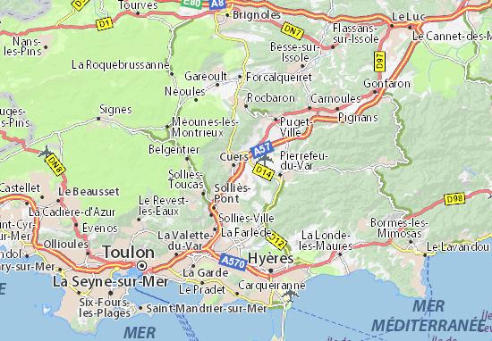 L\'Afrique Map: Detailed maps for the city of L\'Afrique - ViaMichelin